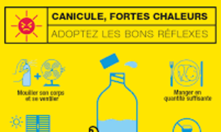 Canicule: adoptons les bons gestes!